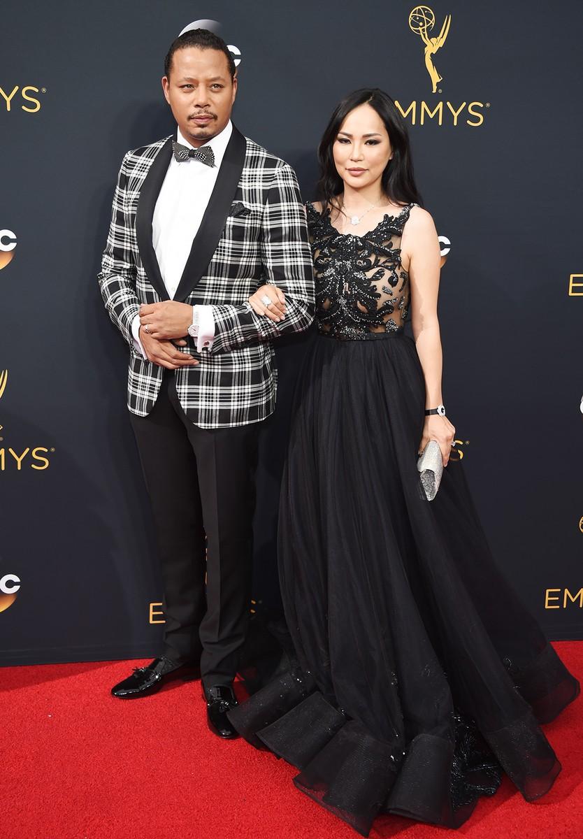 Terrence Howard and Miranda Pak