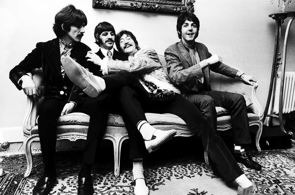 The Beatles photographed in 1967.