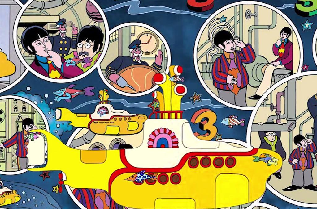 The Beatles Yellow Submarine Graphic Novel Trailer