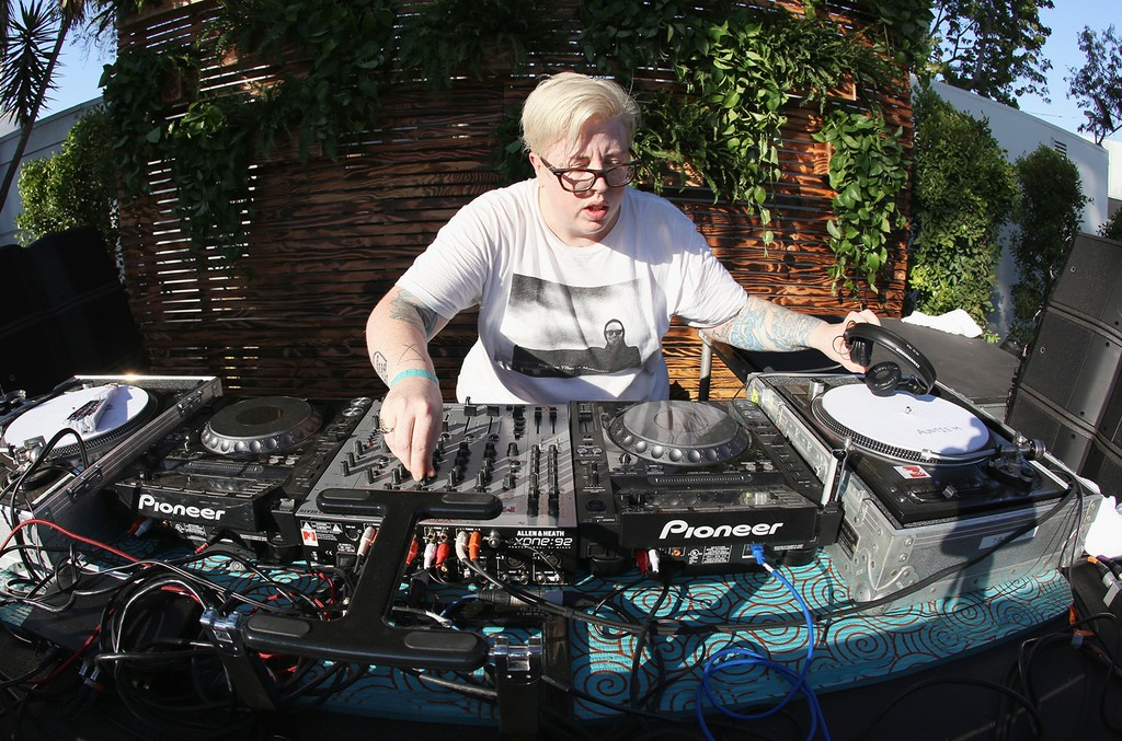 The Black Madonna performs in 2016