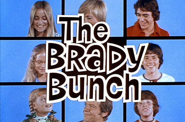 The opening of The Brady Bunch