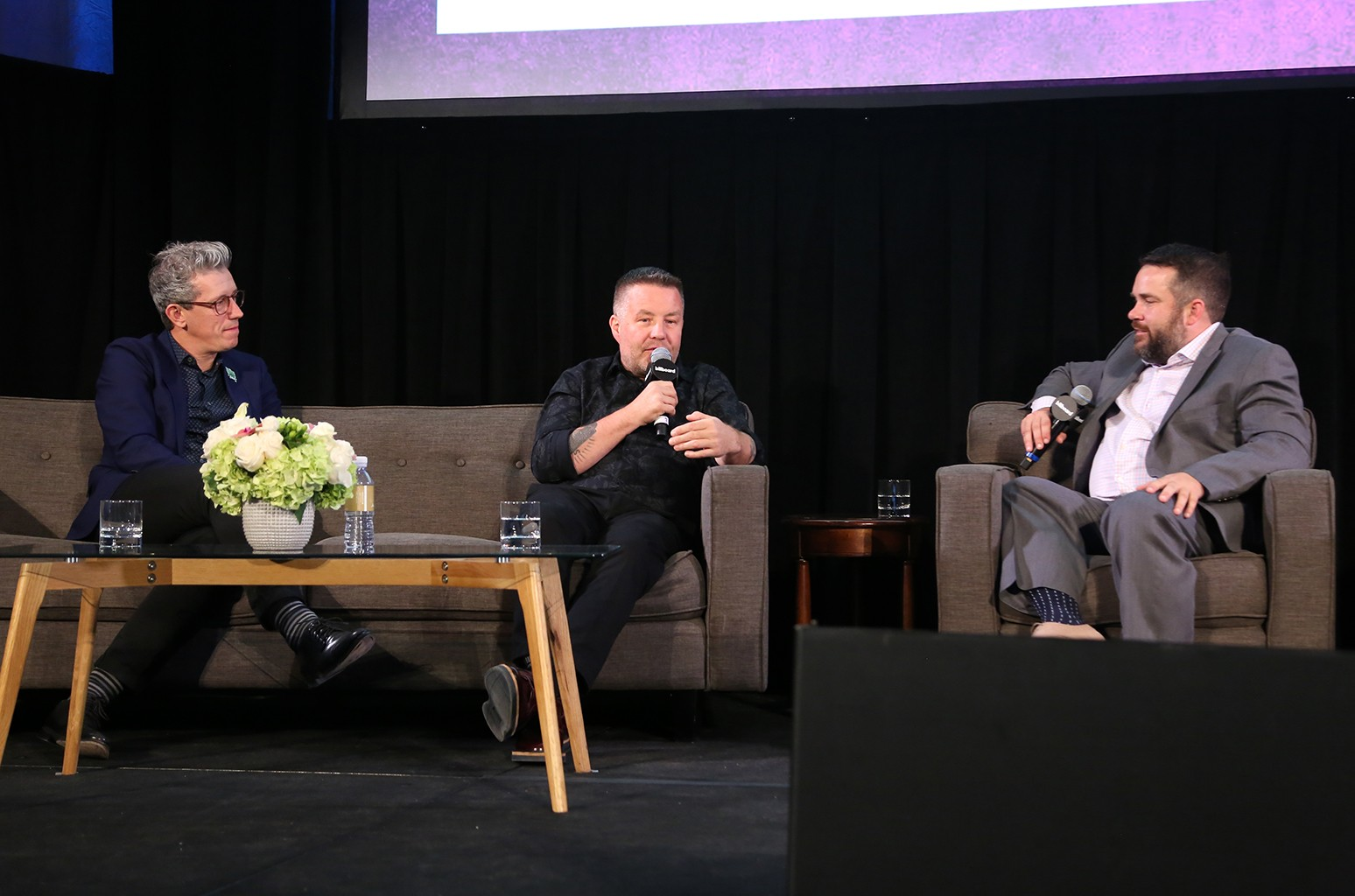 'The Business of Being the Dropkick Murphy's' panel during the 2018 Billboard Live Music Summit + Awards at the Montage Beverly Hills on Nov. 14, 2018 in Beverly Hills, Calif.