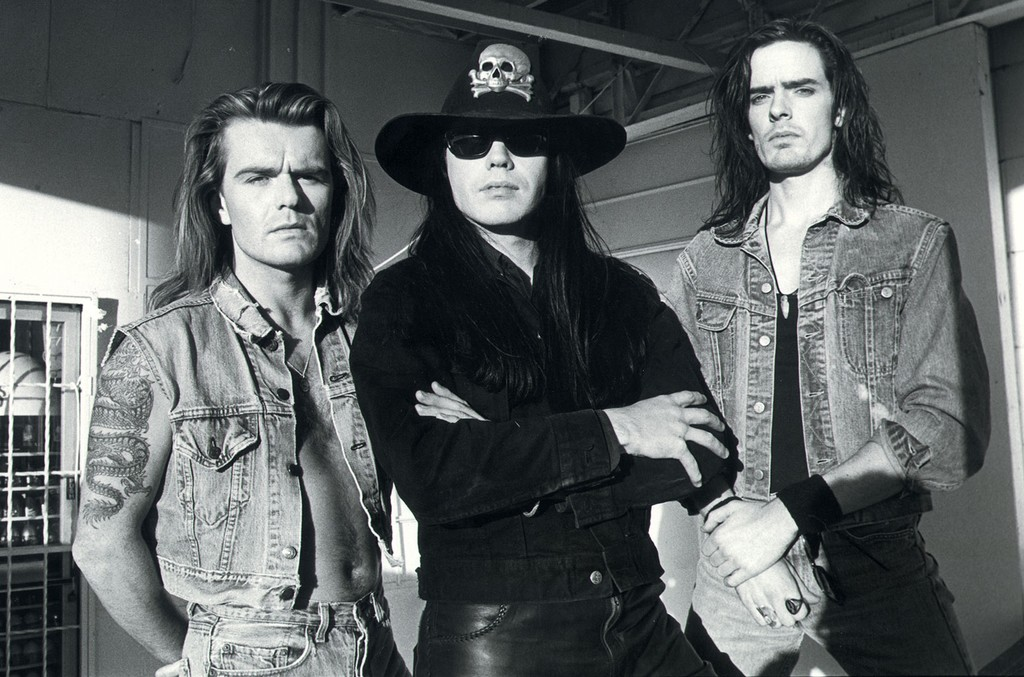 The Cult in 1989.