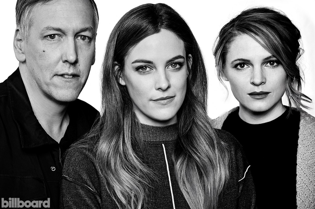 The Girlfriend Experience, from left: directors Lodge Kerrigan & Amy Seimetz with Riley Keough