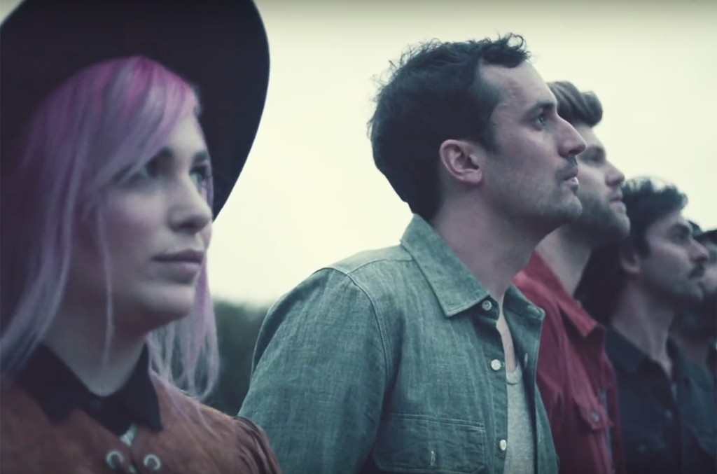 """The Head and the Heart in the video for """"All We Ever Knew."""""""