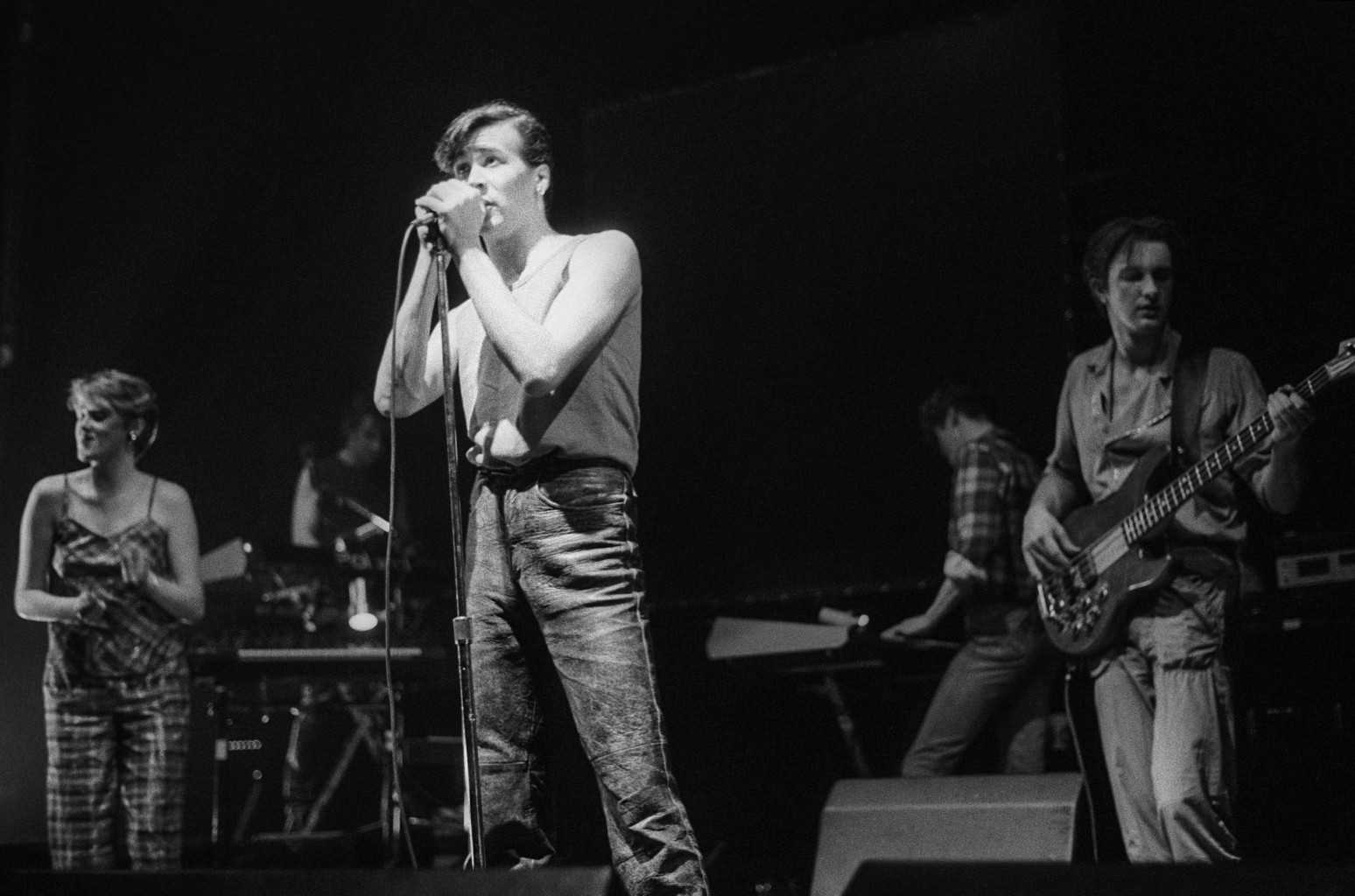 The Human League perform in 1982
