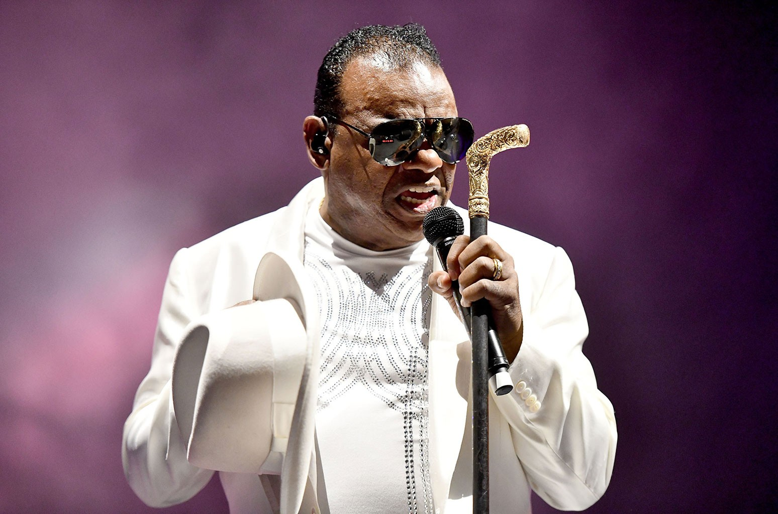 Ronald Isley of The Isley Brothers