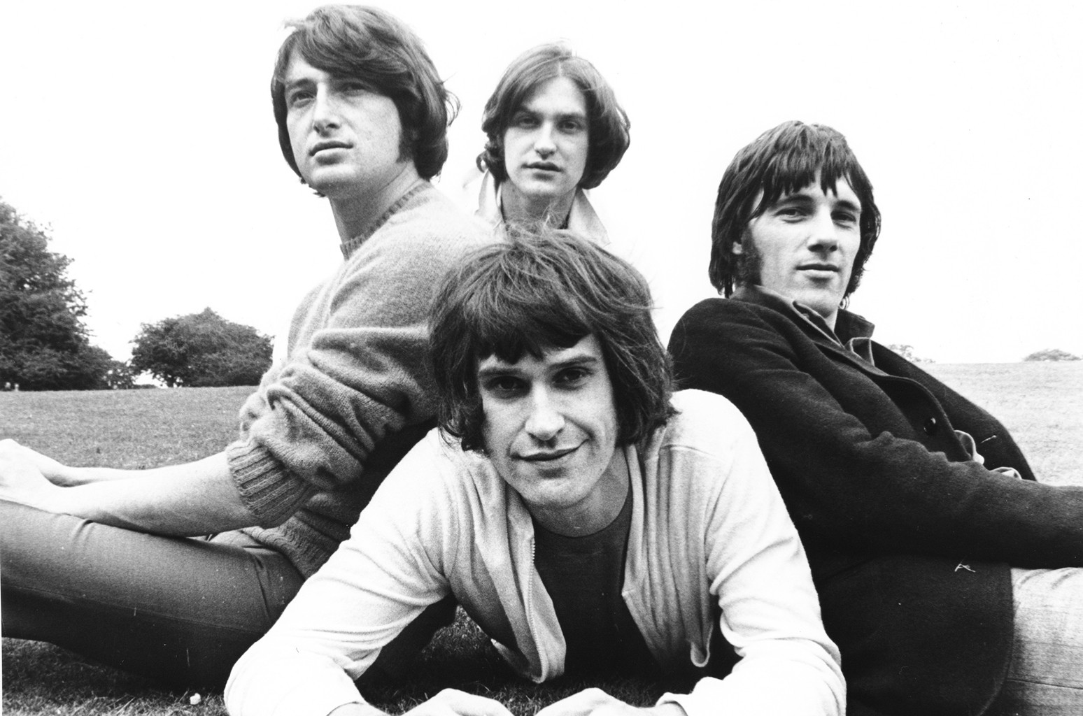 The Kinks photographed in 1968.