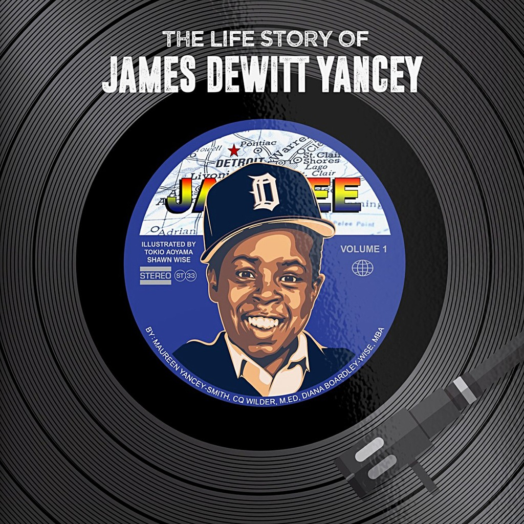 """'The Life Story of James Dewitt Yancey' narrated by Maureen """"Madukes"""" Yancey-Smith, co-authored by CQ Wilder, M,ED and Diana Boardley-Wise, MBA, illustrated by Tokio Aoyama"""