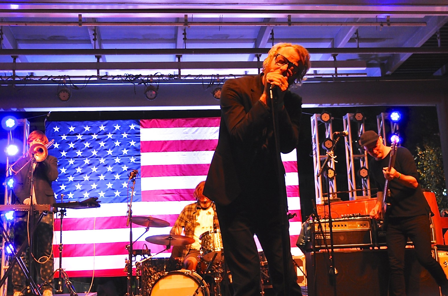 The National performs on Nov. 3, 2016.