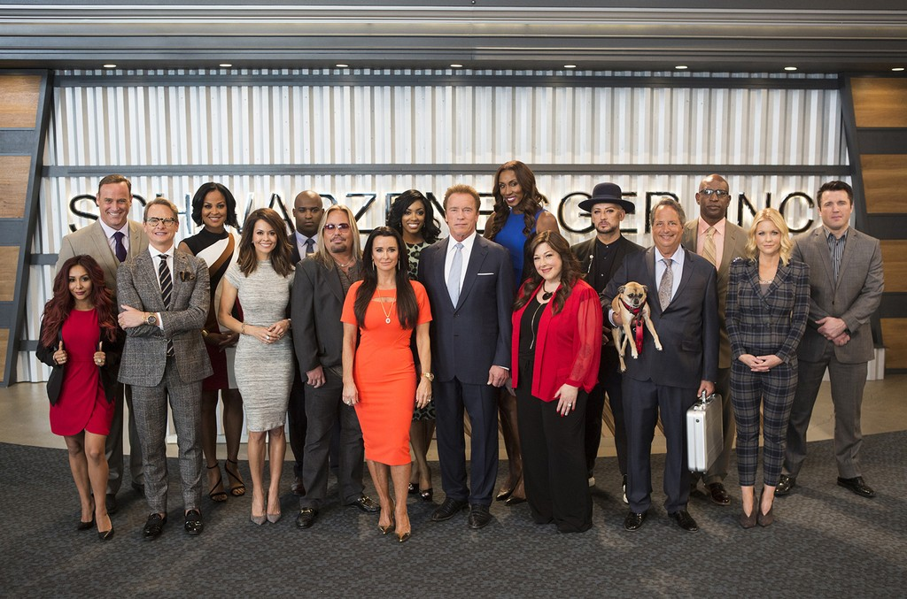 The cast of The New Celebrity Apprentice.