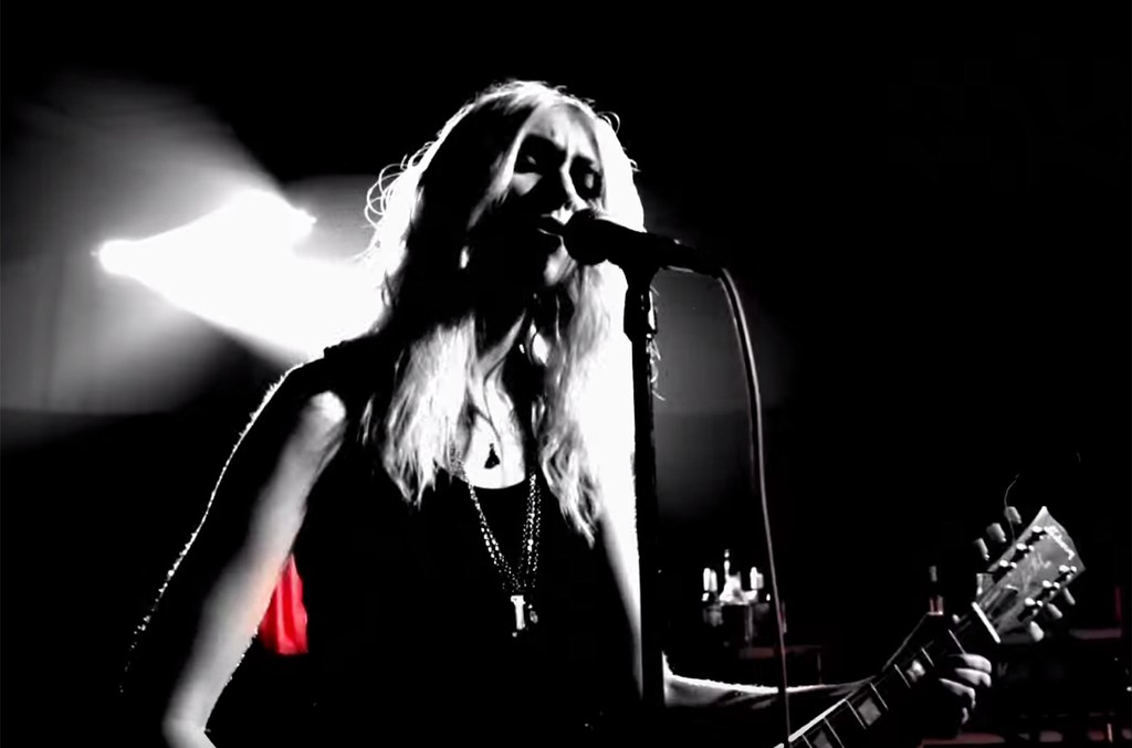"""The Pretty Reckless in the video for """"Take Me Down."""""""