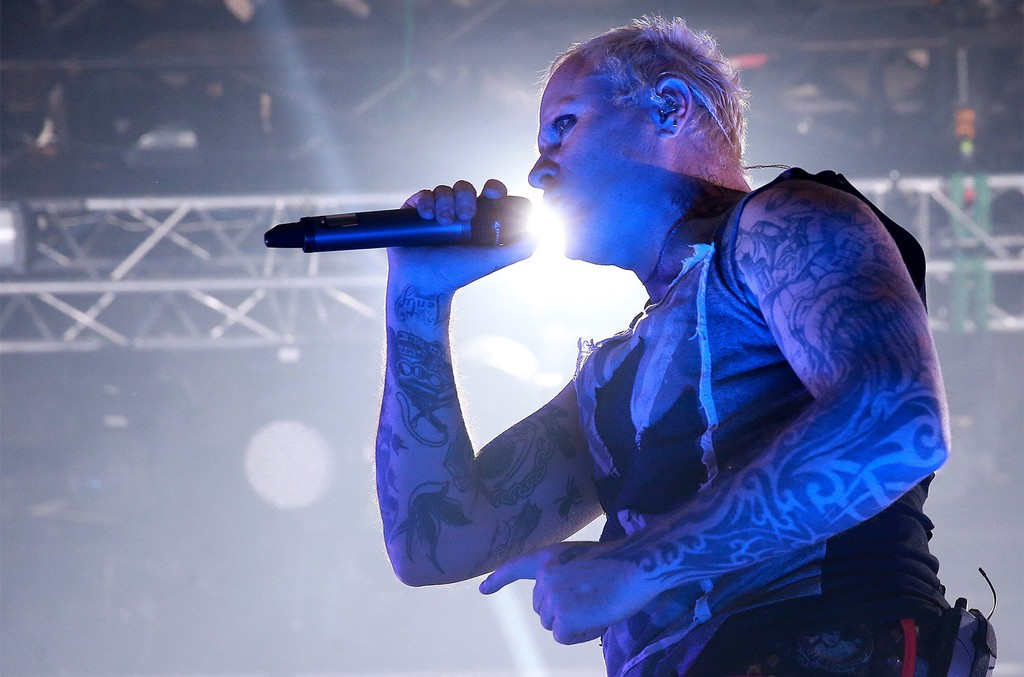 Keith Flint of The Prodigy.