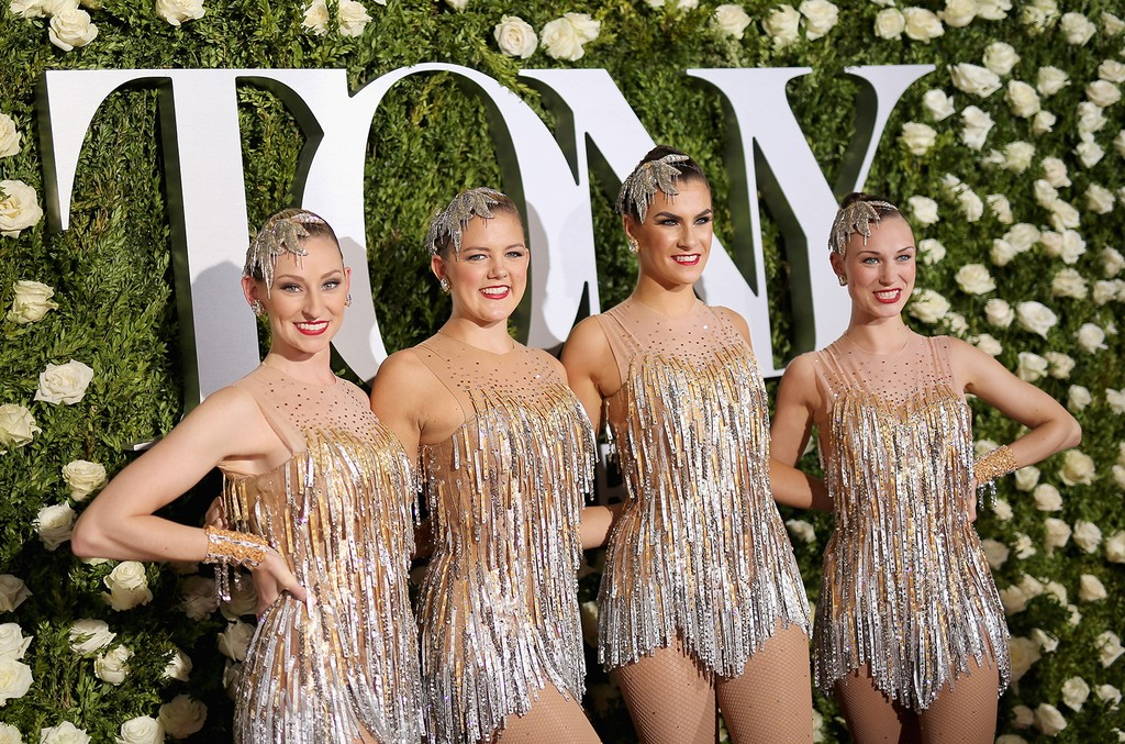 The Radio City Rockettes attend the 2017 Tony Awards at Radio City Music Hall on June 11, 2017 in New York City.