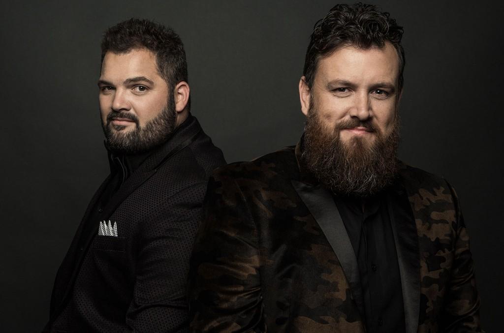 Josh Arnett and Aaron Gray of The Singing Contractors