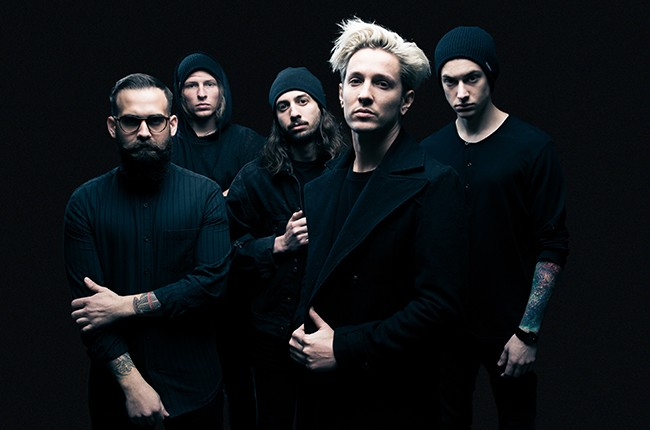 The Word Alive photographed in 2016.