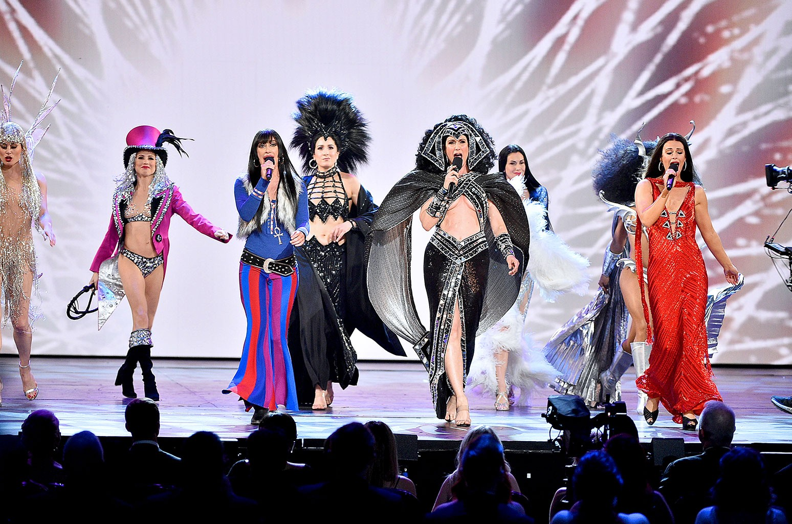 The cast of The Cher Show