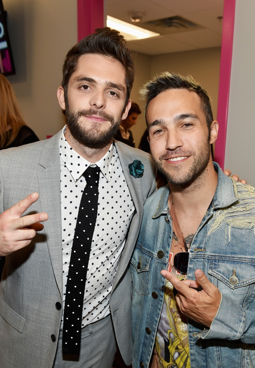 Thomas Rhett and Pete Wentz