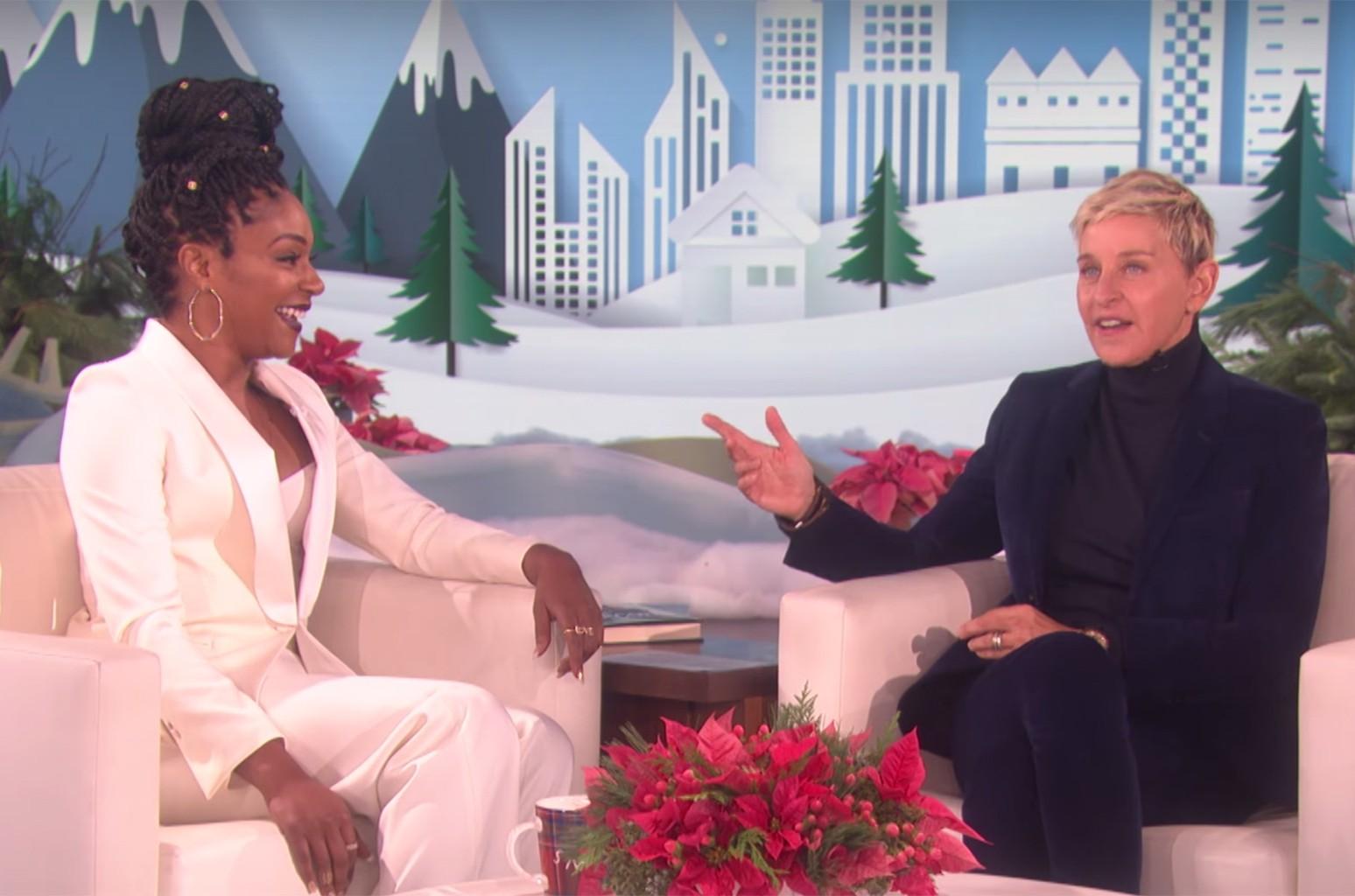 Tiffany Haddish on The Ellen DeGeneres Show