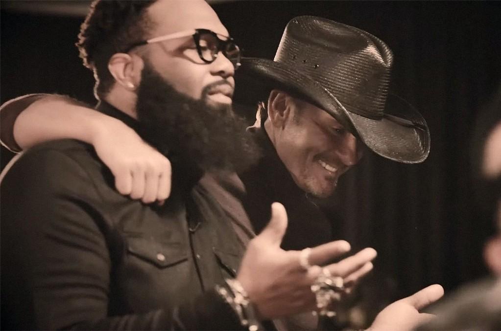 Tim McGraw and Blanco Brown