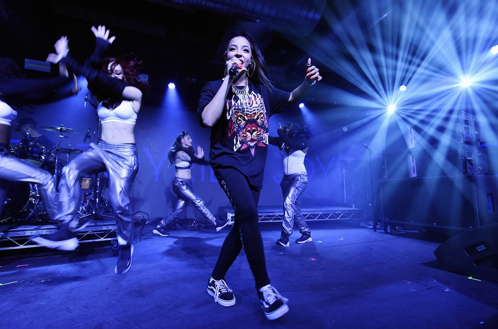 Tinashe performs onstage at the Sony Global music showcase during 2017 SXSW Conference and Festivals at 800 Congress on March 15, 2017 in Austin, Texas.