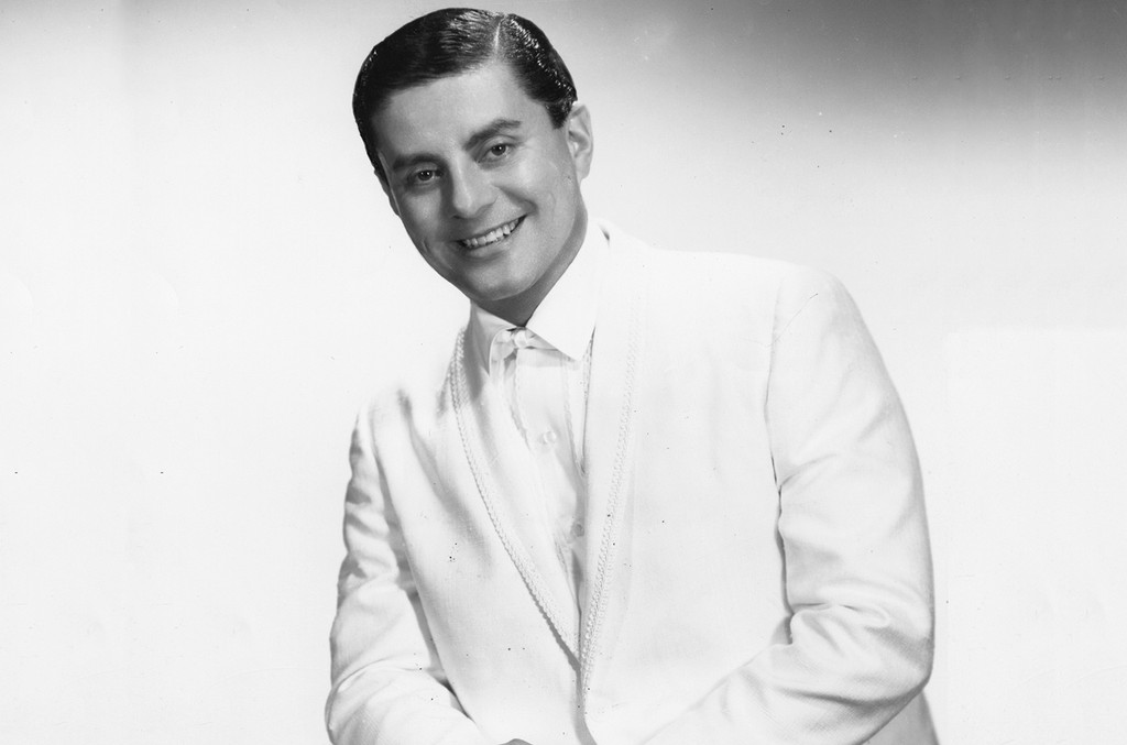 Tito Puente photographed in 1950.