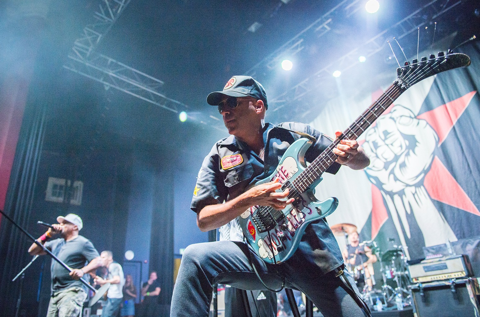Tom Morello of Rage Against The Machine