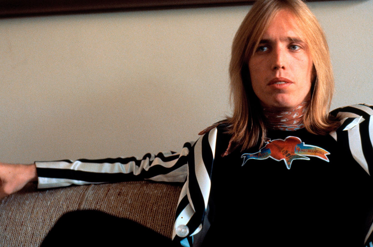 Tom Petty photographed in New York in 1977.