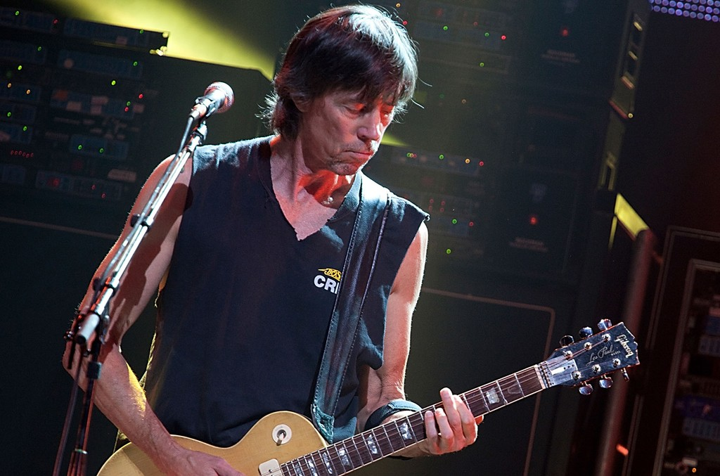 Tom Scholz of Boston performs at ACL Live