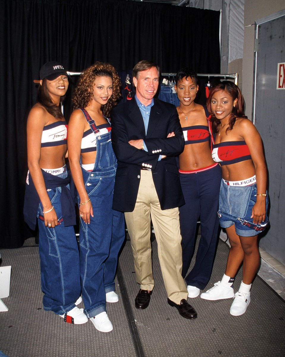 aaliyah and tommy hilfiger