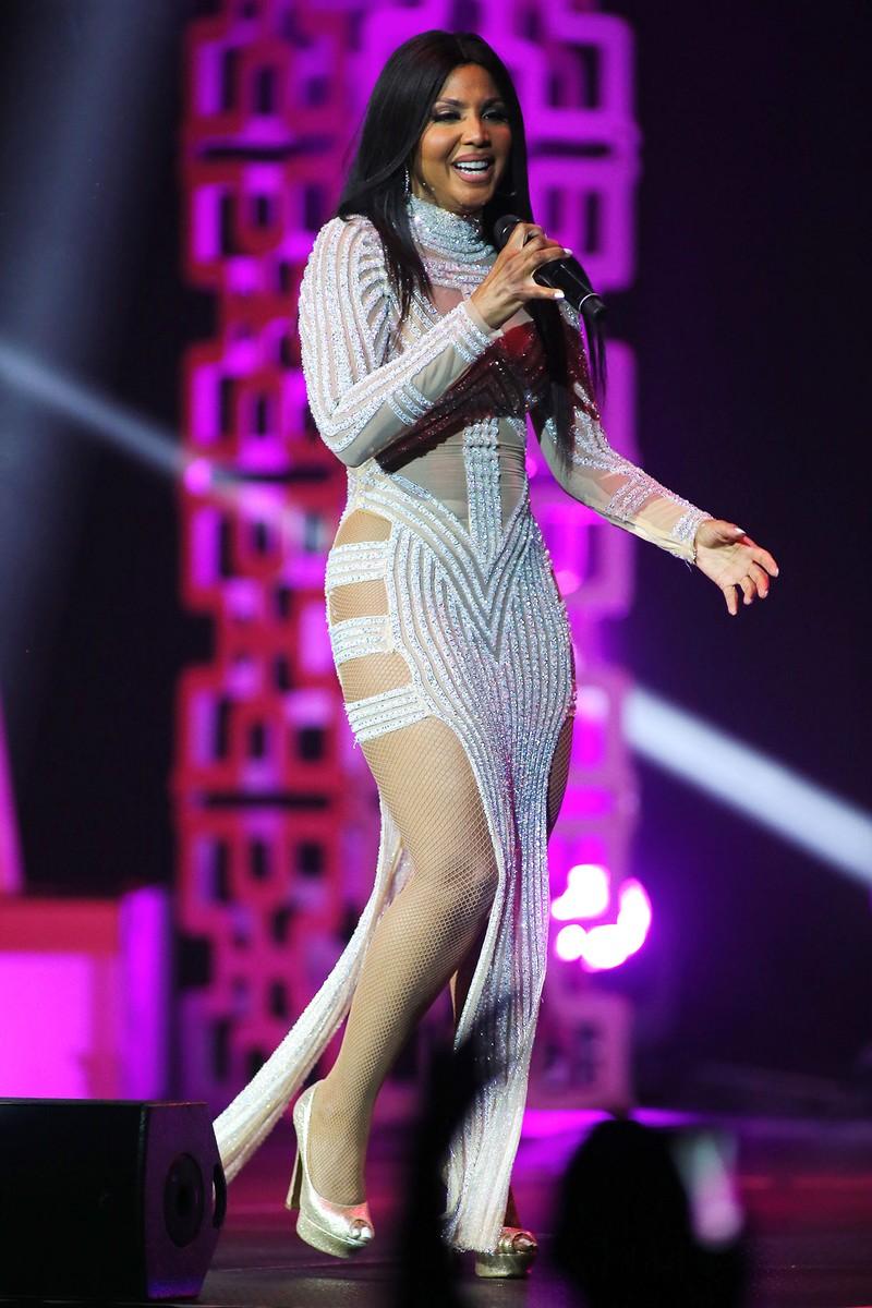Toni Braxton performing at Hard Rock Live at the Seminole Hard Rock Hotel & Casino on Oct. 26, 2016.
