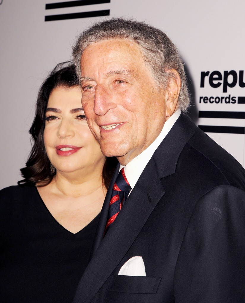 Tony Bennett and Michelle Anthony