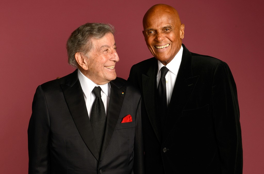 Tony Bennett and Harry Belafonte