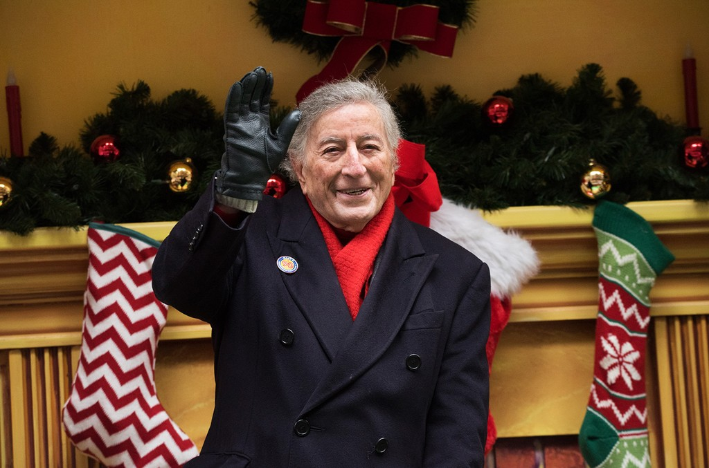 Tony Bennett attends the 90th Annual Macy's Thanksgiving Day Parade on Nov. 24, 2016 in New York City.