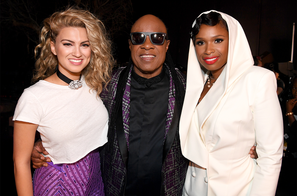 Tori Kelly, Stevie Wonder and Jennifer Hudson