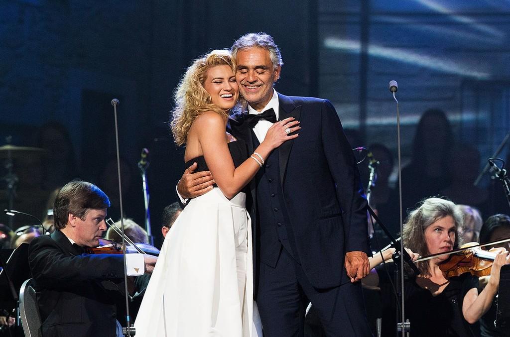 Tori Kelly and Andrea Bocelli