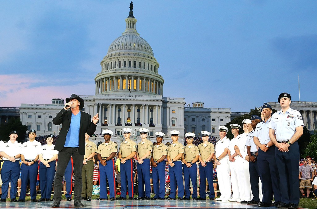 Trace Adkins performs at A Capitol Fourth at U.S. Capitol, West Lawn on July 4, 2017 in Washington, DC.