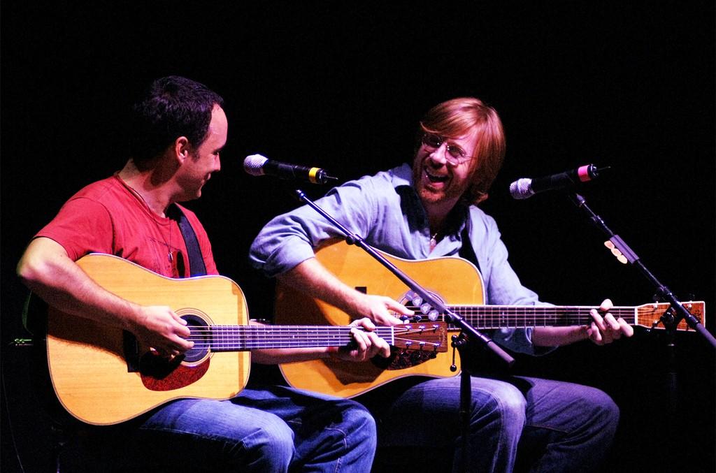Dave Matthews and Trey Anastasio