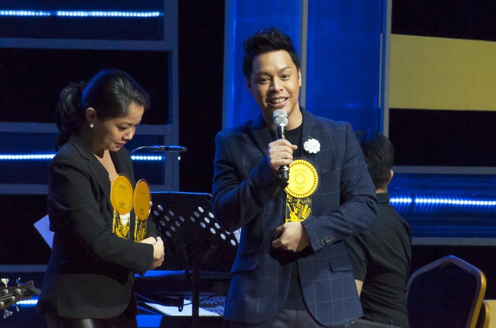 Trina Belamide and Zion Aquino
