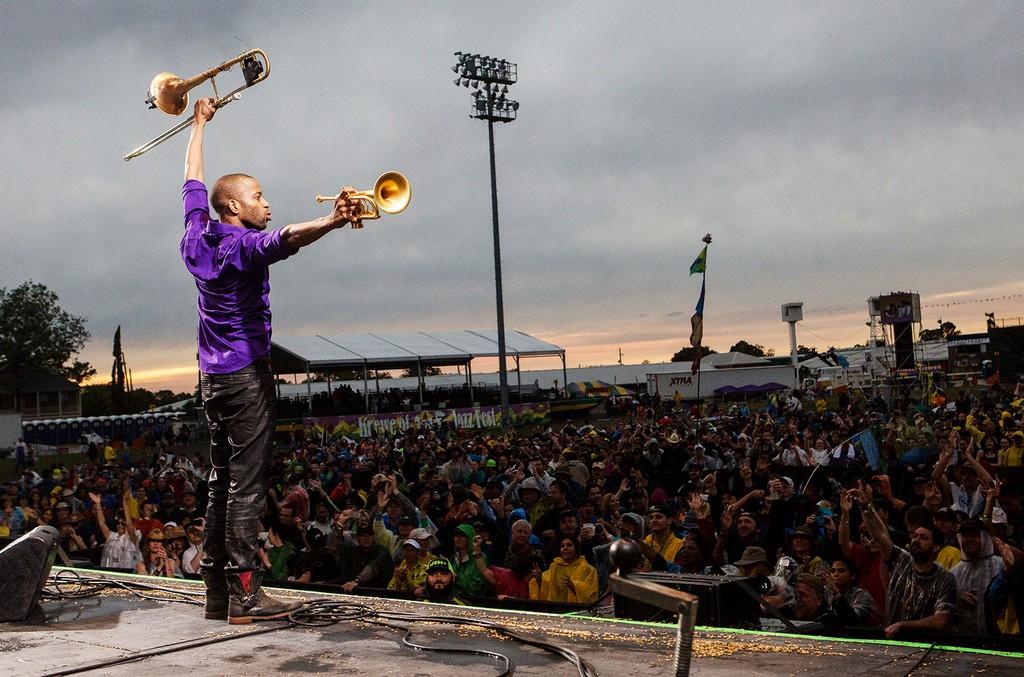 Trombone Shorty, New Orleans Jazz & Heritage Festival 2016