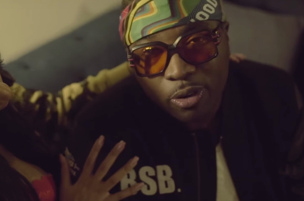 "Troy Ave in the video for ""No Delay"""
