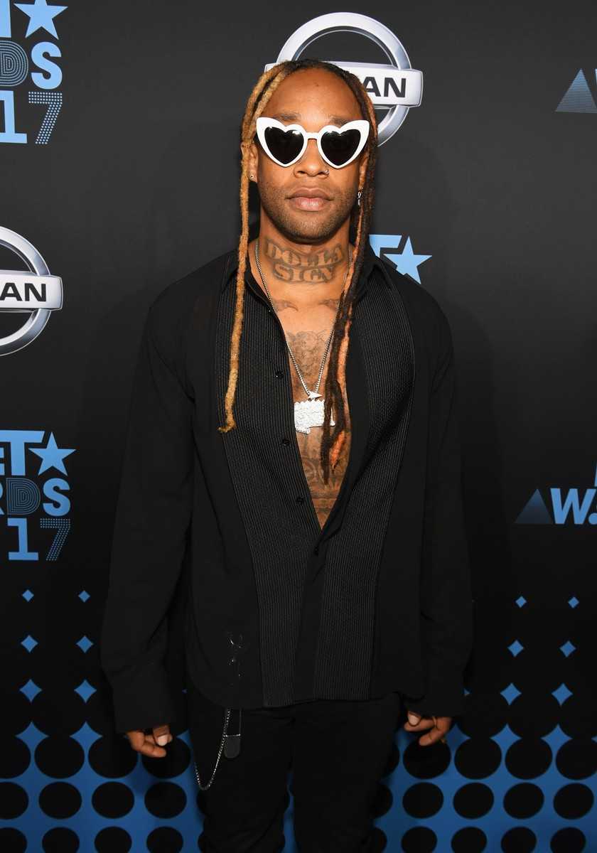 Ty Dolla Sign at the 2017 BET Awards at Staples Center on June 25, 2017 in Los Angeles.
