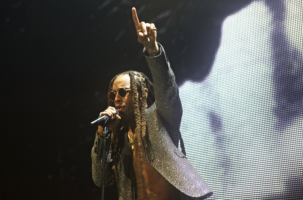 """Ty Dolla $ign performs during the 1st Inaugural """"Dolla Day"""""""