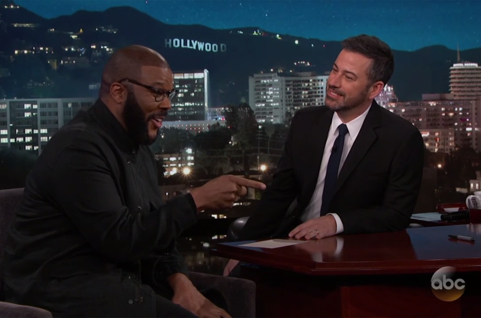 Tyler Perry on Jimmy Kimmel Live!