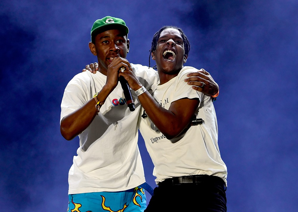 Tyler, The Creator and A$AP Rocky