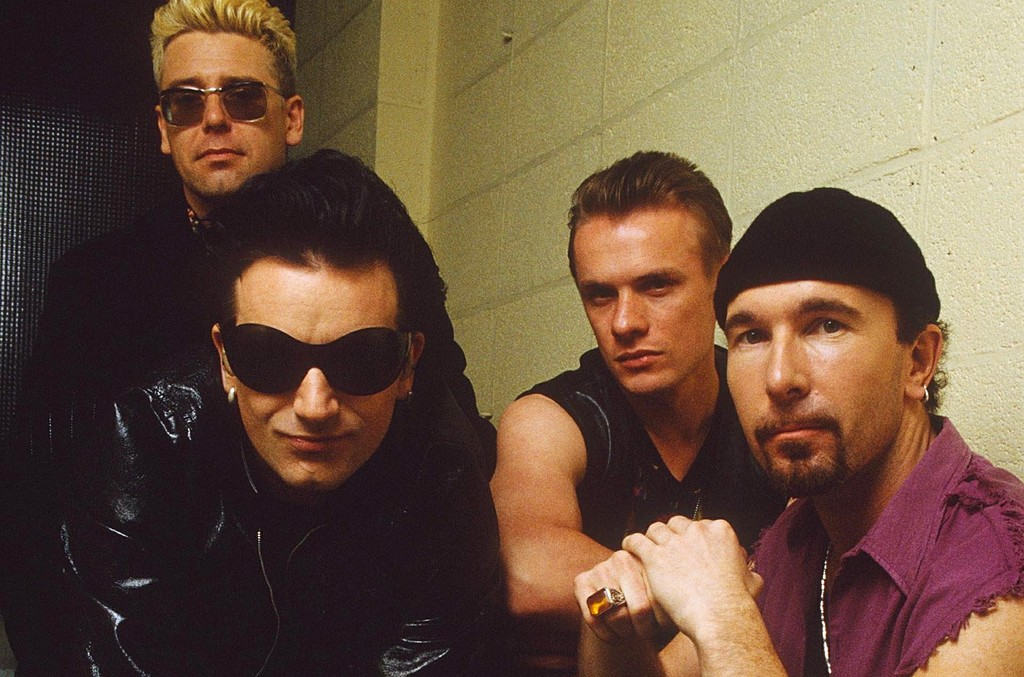 U2 photographed in Germany in 1992.