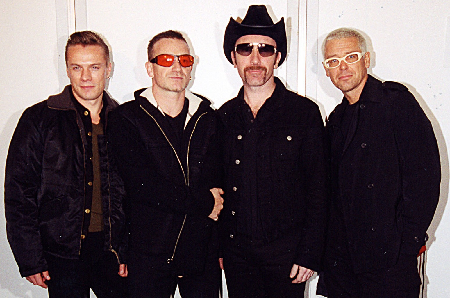 U2 photographed in 1997.