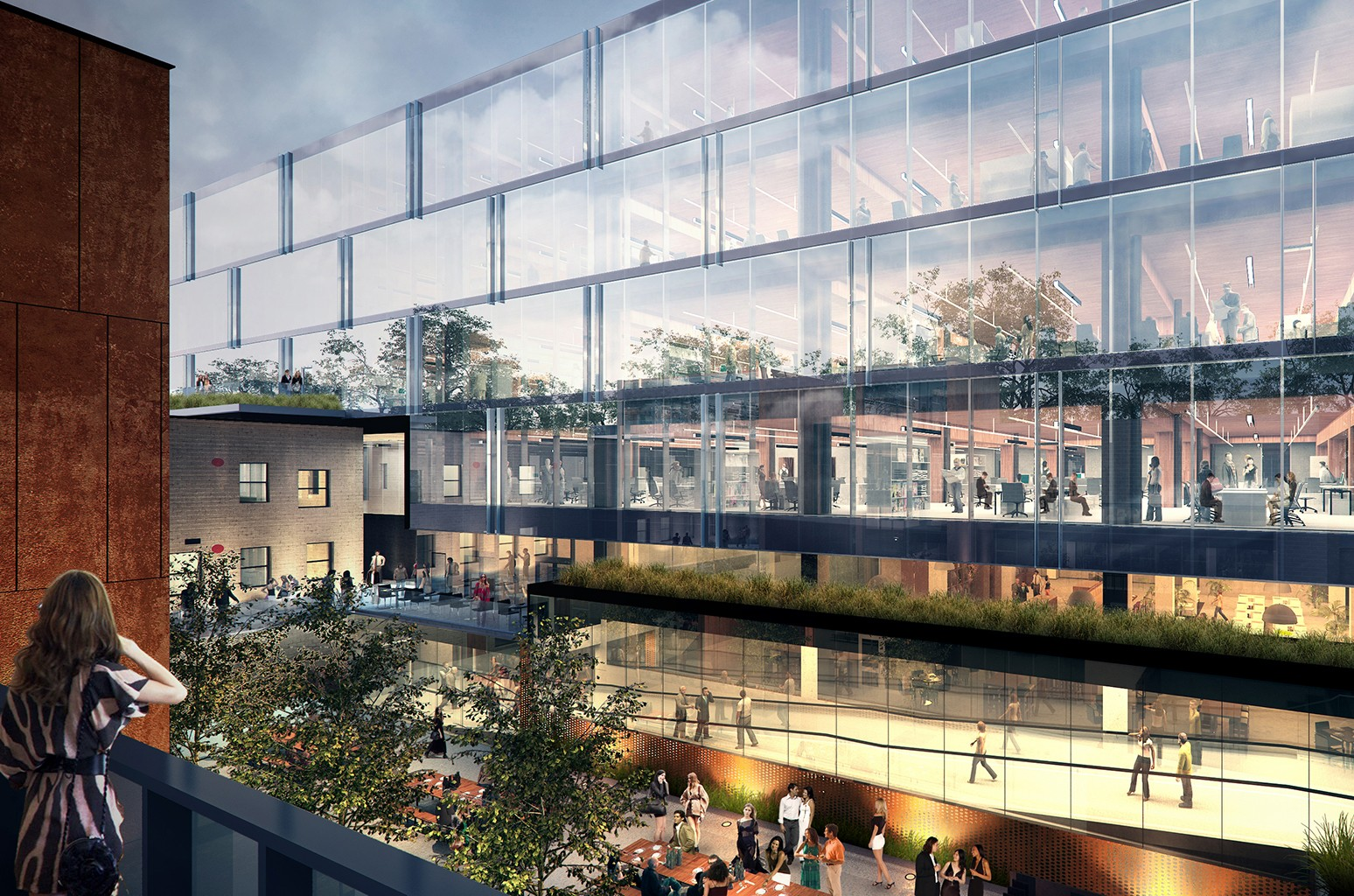 A rendering of Universal Music Canada's new offices.