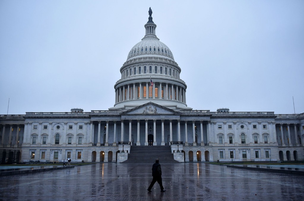 The US Capitol in Washington, DC.