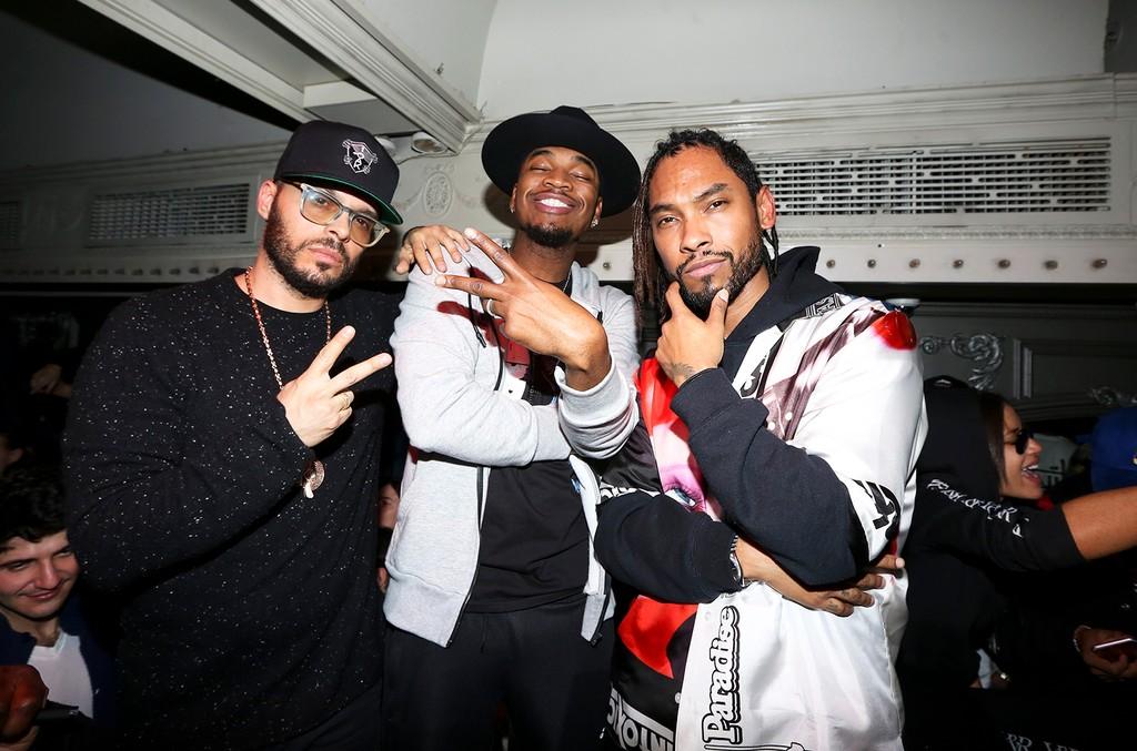 Richie Akiva, Ne-Yo and Miguel